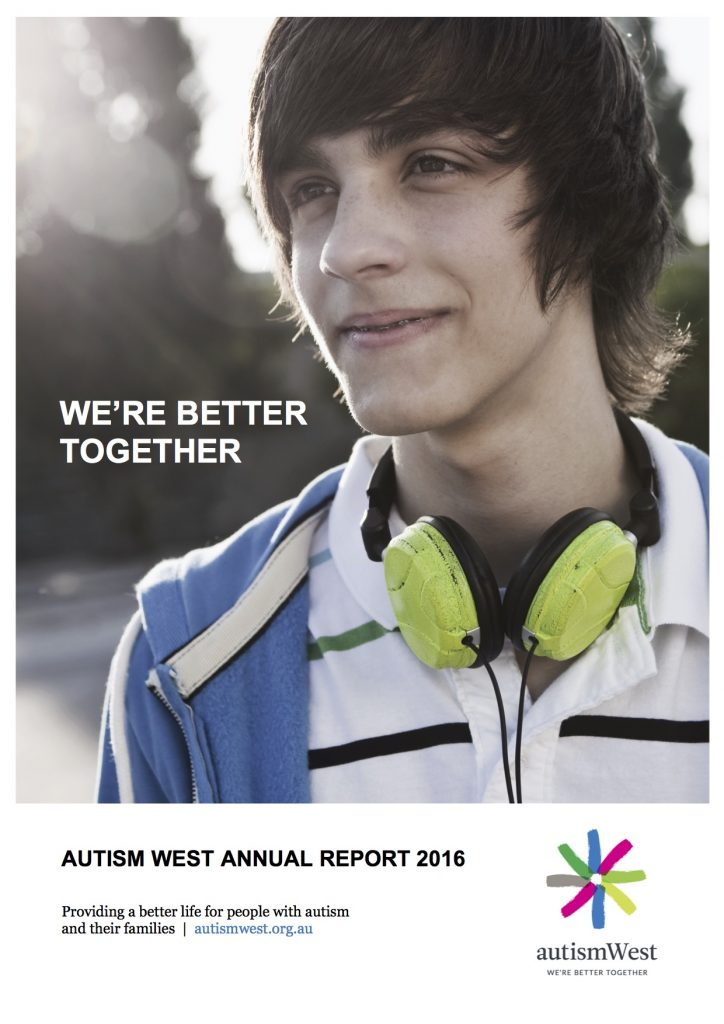 2016 Autism West Annual Report