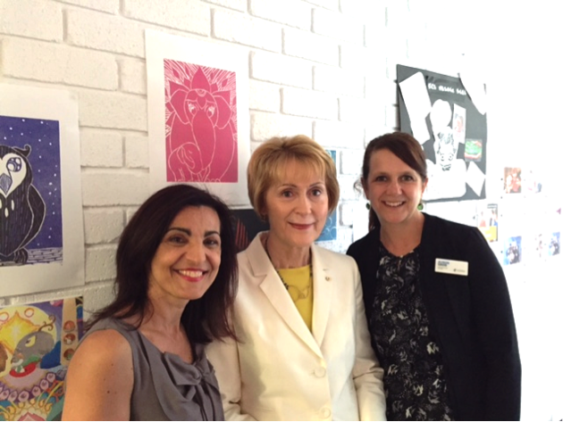 A visit from Her Excellency the Honourable Kerry Sanderson AC, Governor of Western Australia