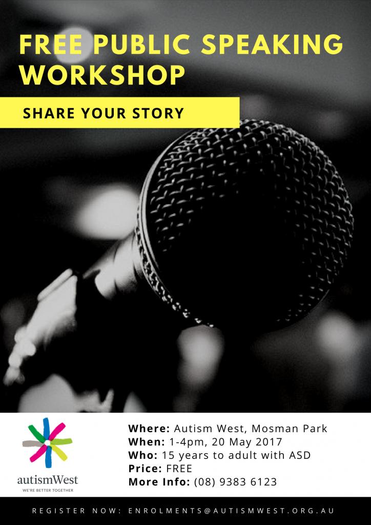 Public Speaking Workshop May 2017